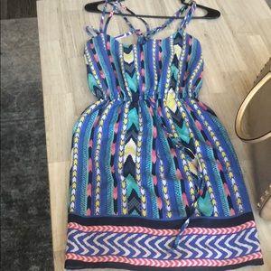 Aztec themed dress